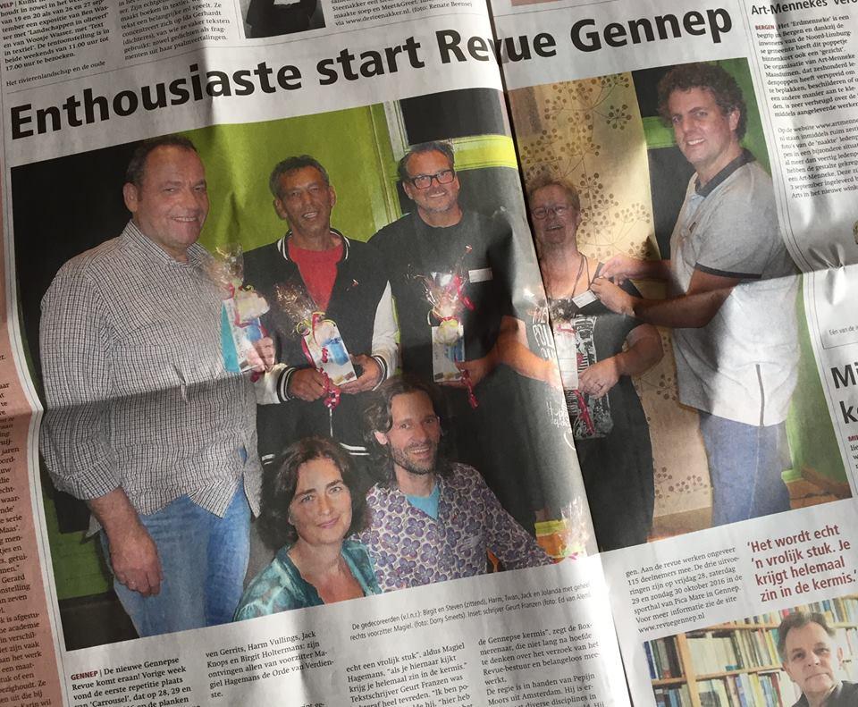 2015-09-15 Enthousiaste start Revue Gennep