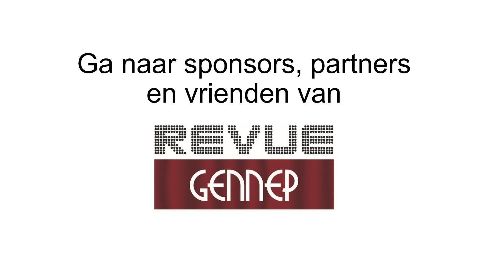 Ga naar sponsors